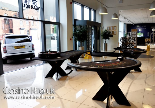 casino table hire leeds