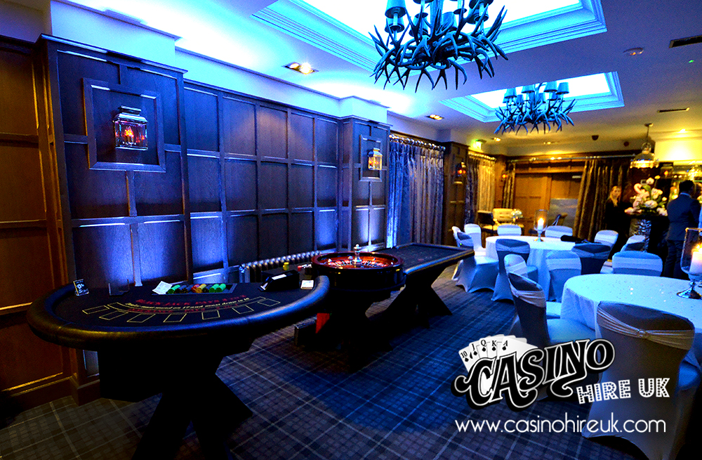 fabulous fun casino wedding set up