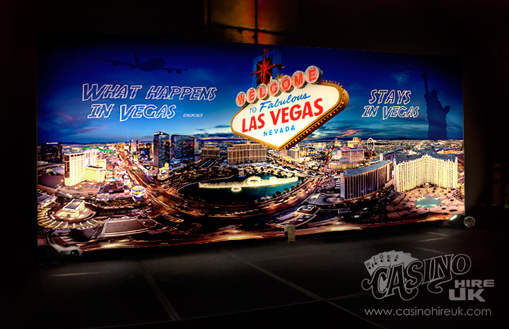 las vegas event backdrop