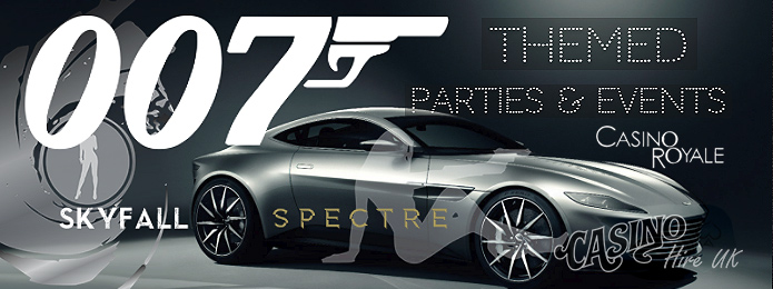 007 james bond themed events
