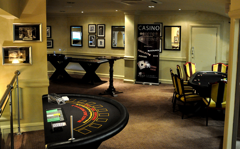Casino Table Hire in Leeds