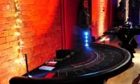 blackjack table at Thoresby hall