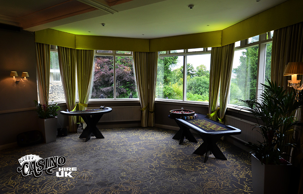 casino tables at the mercure bankfield hotel bradford
