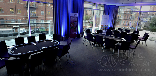 leeds poker night corporate event