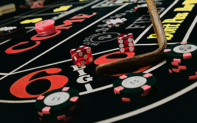 new craps table for hire