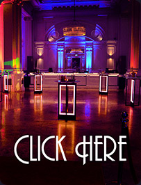 event lighting hire uplighters