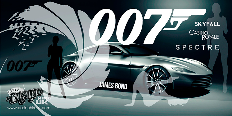 007 james bond backdrop