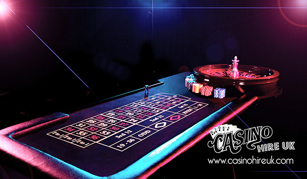 roulette table hire