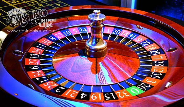 roulette table hire leeds london